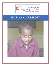 TFF 2015 Annual Report (cover)